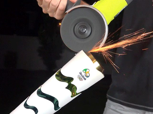 The Olympic Torch Is Borderline Indestructible