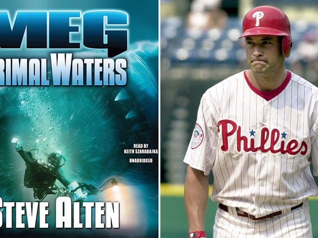 How Pat Burrell Set The Home-Run Record... In A Sci-Fi Novel About Killer Prehistoric Sharks