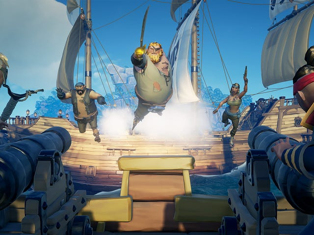 Other Players Are The Best and Worst Part of Sea of Thieves