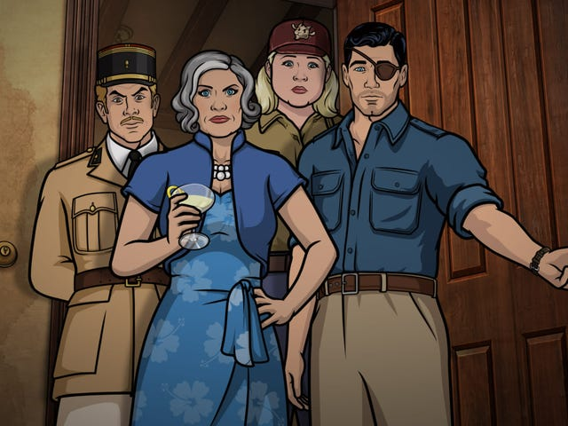 5 things to know about Archer's new Danger Island reboot