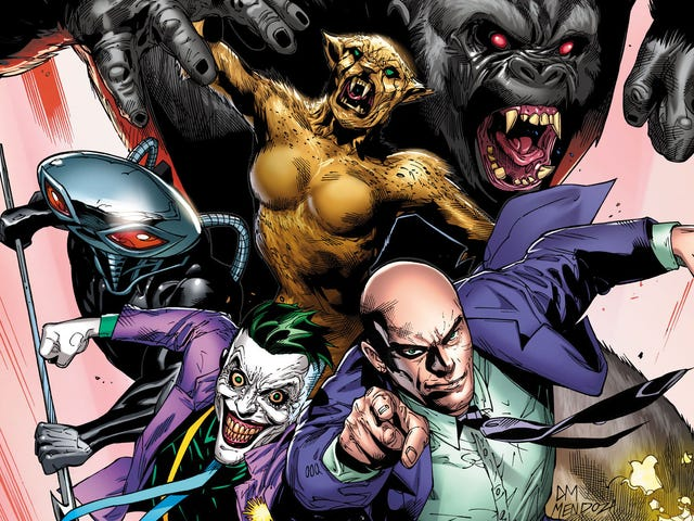 Here's How the Legion of Doom Is Returning to DC Comics