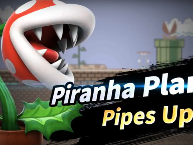 Smash Bros. Ultimate's First Post-Launch Fighter Will Be, Uh, Piranha Plant