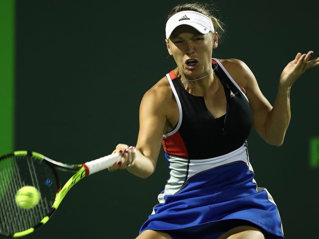 Caroline Wozniacki Says Unruly Fans Threatened Her And Her Family During Miami Open