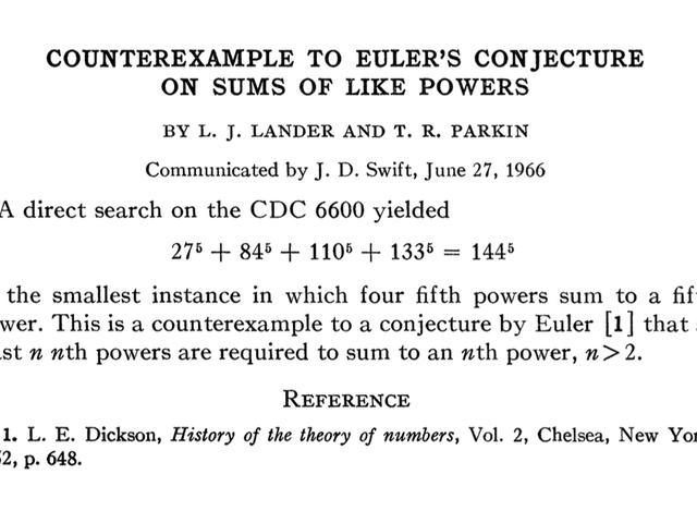 İki Cümlenin Matematiksel Emsalin 200 Yılı Nasıl Devrildi?