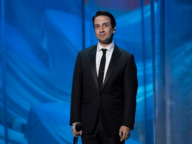 Lin-Manuel Miranda Made You a Playlist to Help With Your Writer's Block
