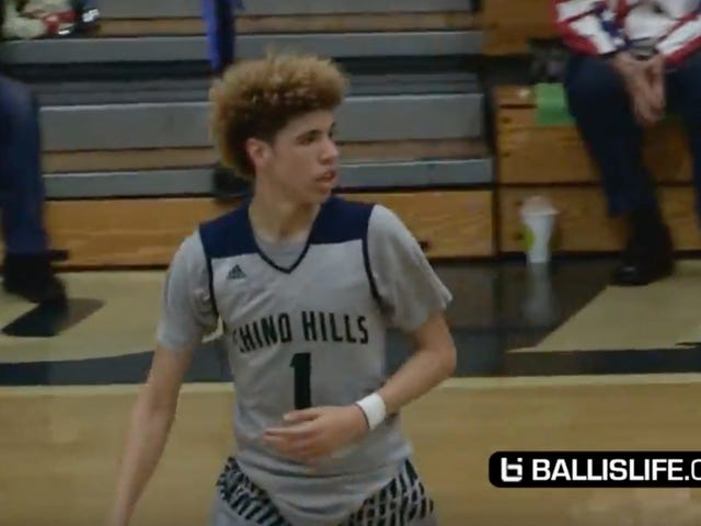 High School Sophomore LaMelo Ball Scored 92 Points In A Game