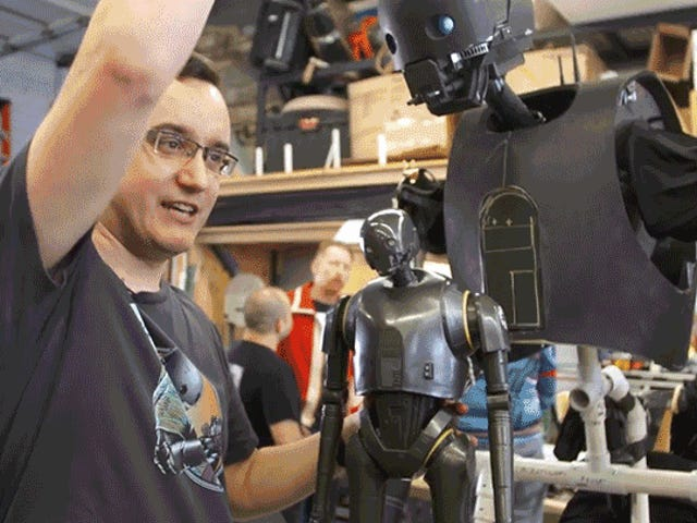 You've Only Got Six Months to Build This Wearable K-2SO Puppet For Halloween