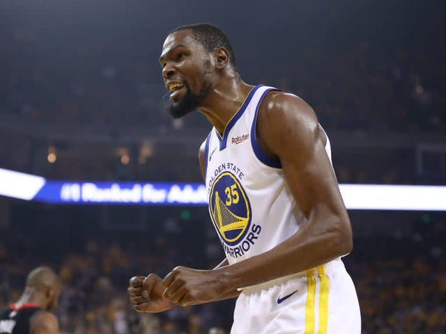 Kevin Durant Practiced, But Maybe Not That Much, And Nobody Knows What The Hell Is Going On