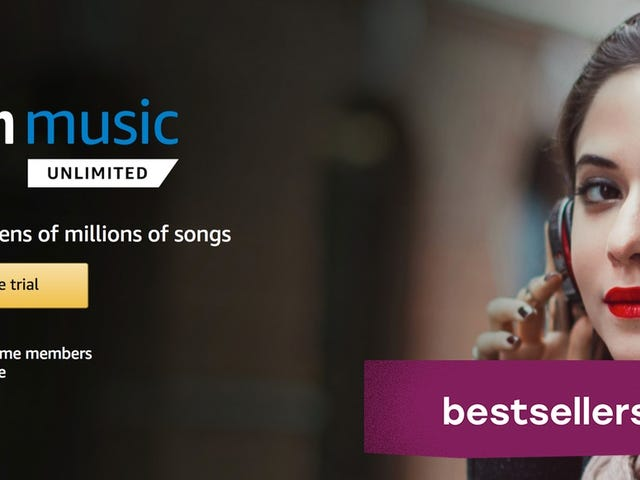 Bestsellers: Amazon Music Unlimited