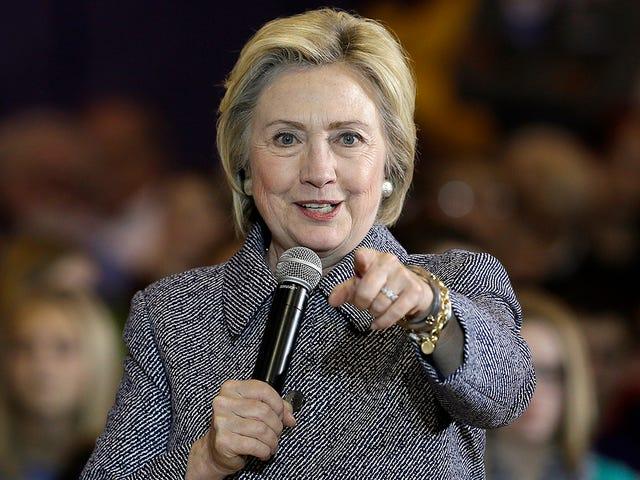 Хілларі Клінтон хоче відправити спеціальну групу, щоб зосередити 51, щоб отримати нижню частину іноземців