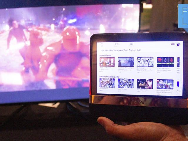 Αυτή η μηχανή αναζήτησης Streaming που βασίζεται στο Tablet σας δίνει Binging Superpowers