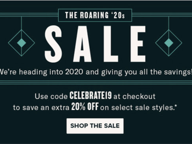Walk Into the Roaring '20s With New Shoes When You Shop Zappos' 20% Off Sale