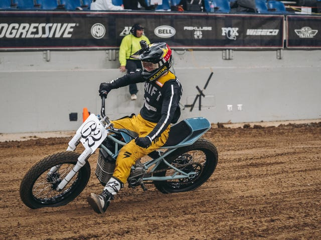 Electric Flat Track Motorcycle Racing Proves The Future Will Be Just Fine