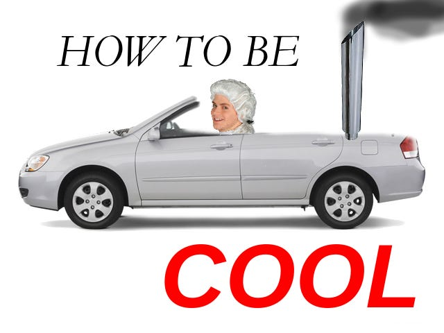 How To Seem Cool When You Drive A Lame Car