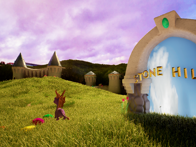 Spyro the Dragon Looks Amazing in Unreal Engine 4