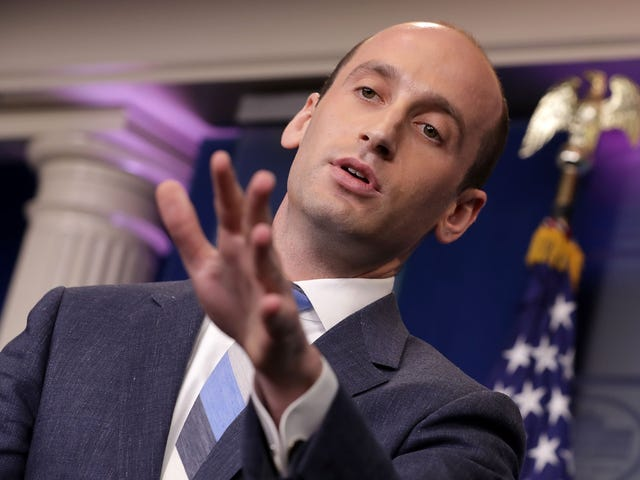 The New York Times Profile on White House Policy Adviser Stephen Miller Confirms That He's Been an Asshole His Whole Life