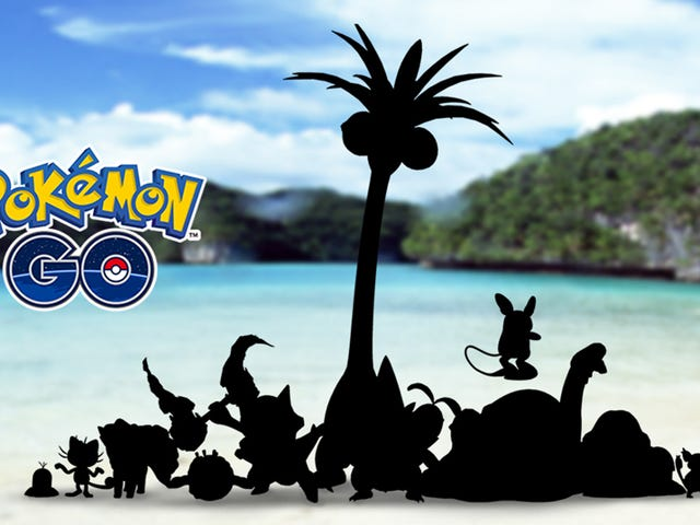 Pokémon Go will get Sun and Moon's Alolan forms, Niantic announced today