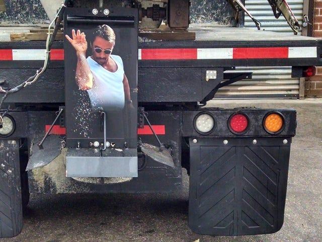 When the roads get slick, call Salt Bae quick!