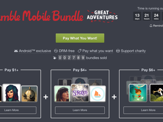 Humble's Latest Mobile Bundle Includes Grim Fandango, Her Story, and More
