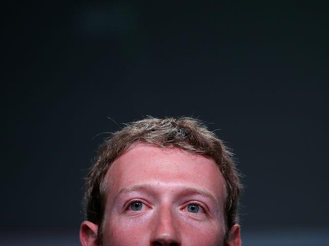 Facebook Gjorde det snikende lyttende, også