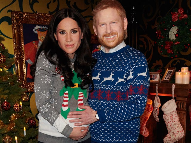 These Wax Figures of Harry and Meghan Are the Last Thing You See Before You Die, I'm Sorry