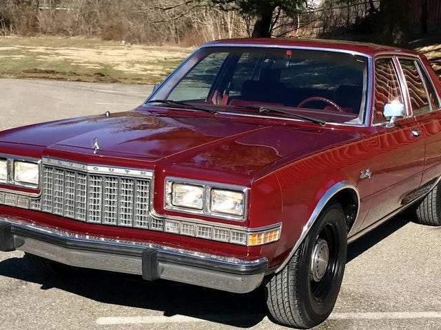 At $5,450, Could You Feel the Fury of This 1987 Plymouth?