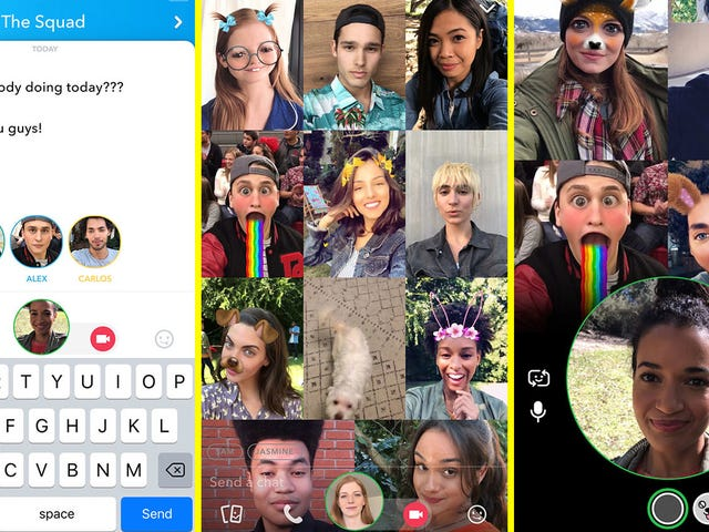 How to Start Group Video Chats and Tag Your Friends on Snapchat