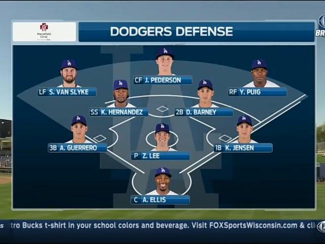 Pyhä paska, älä vittu tällä Dodgers-kokoonpanolla
