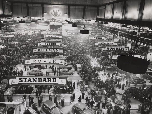 London Motor Show 1950