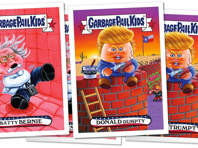 You've Only Got 24 Hours to Buy These Donald Dumpty and Batty Bernie Garbage Pail Kids Cards