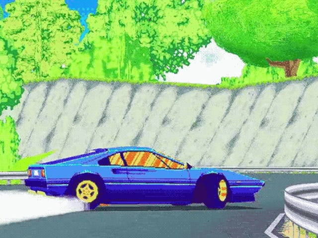 The Eighties Shall Live On in this Racing Game