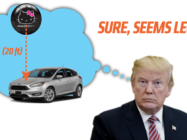 What The Hell Is Trump Talking About With Japan Dropping Bowling Balls On Cars?