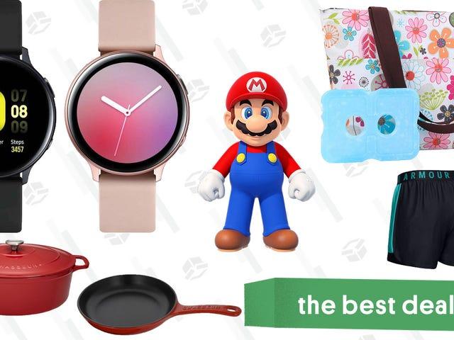 Las mejores ofertas del domingo: juegos de Mario Switch, relojes Samsung, utensilios de cocina de hierro fundido y más