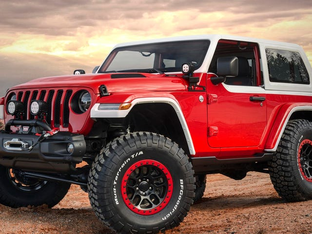 Could Jeep pull off a $100k limited edition Wrangler?