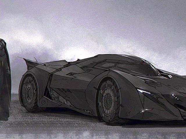Nice Wheels, Batman