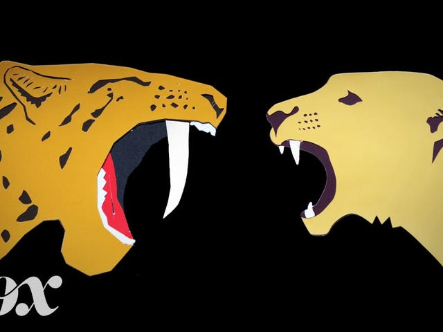 Did smilodon mothers have a controllable swarm of murder kittens?