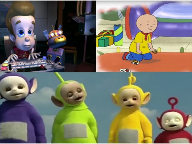 Turns out every children's TV show character is a goddamn giant