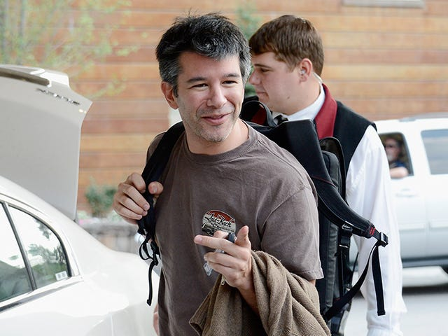 Uber's CEO Became a Big Boy When Tim Cook Gave Him a Stern Talking To