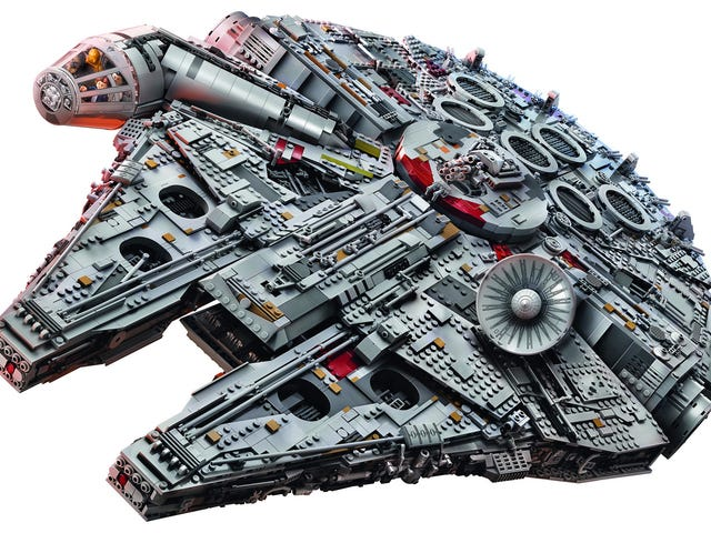 This 7,541-Piece Millennium Falcon Is the Largest, Most Desirable Lego Set Ever Created<em></em>