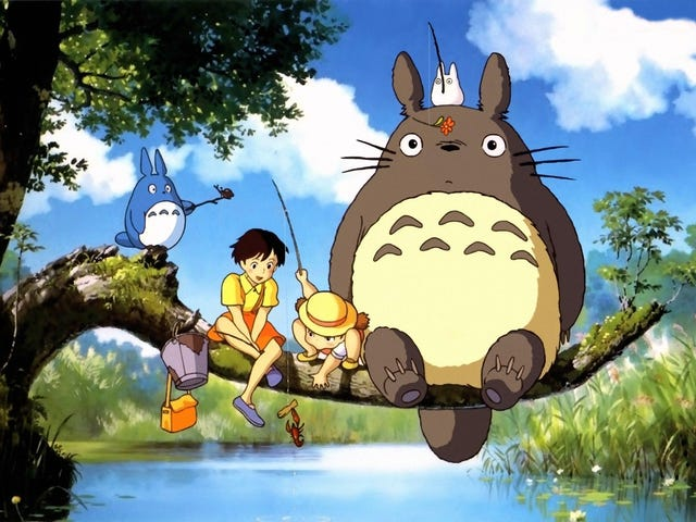 <i>My Neighbor Totoro</i>Surprised Me All Over Again