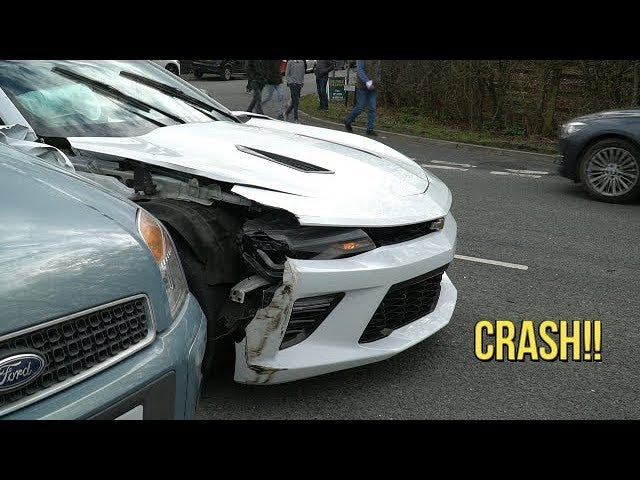Camaro trying its hardest to wrest the title from the Mustang.
