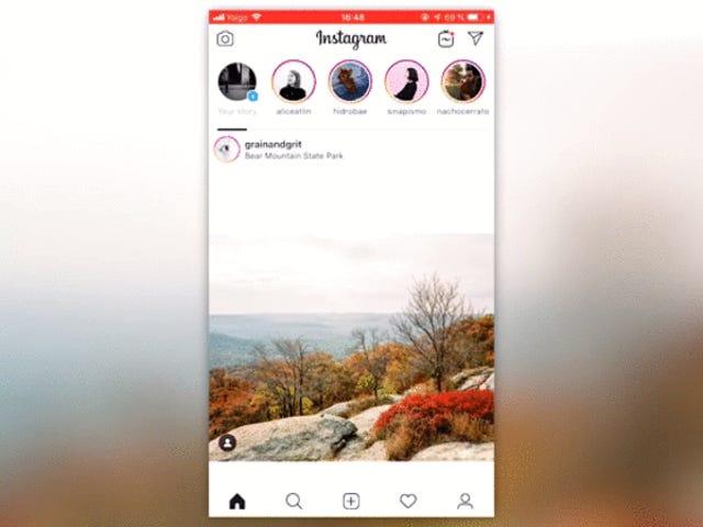 От вертикального к горизонтальному: Instagram изменил свой интерфейс на несколько минут, и пользователи были в ярости