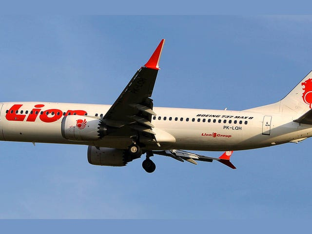 Lion Air 737 MAX 8 Crash: 100 Pounds of Yoke Force, 21 Times