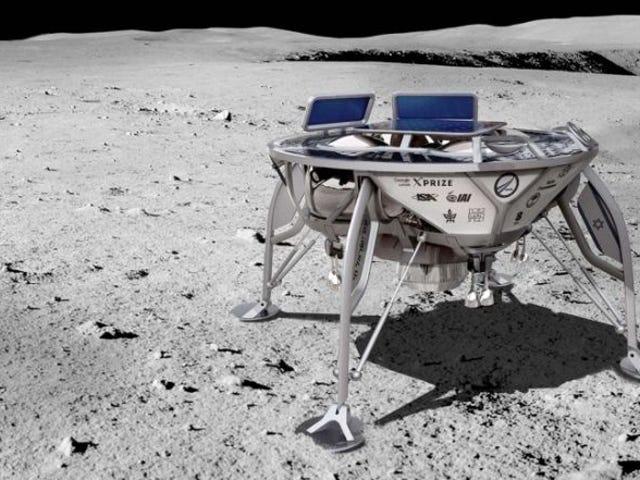 Ein 30-Millionen-Seiten-Archiv der Erfolge (und Misserfolge) der Menschheit ist auf dem Weg zum Mond