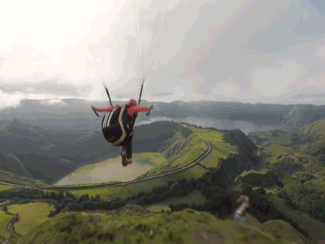 Цей хлопець живе моєю фантазією літаючих, як птах