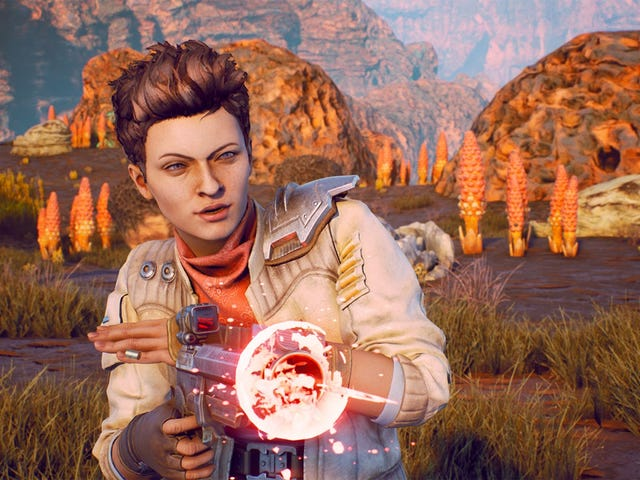 Outer Worlds Developer Finds Bug That Caused Companions To Climb Infinite Ladders Until They Died