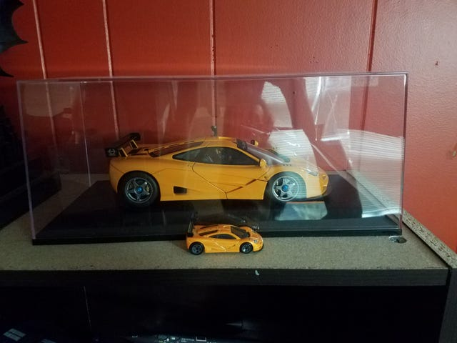 My custom F1 LM now sits with a God