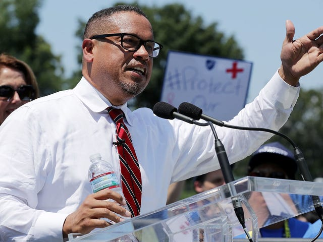 Keith Ellison Wins Democratic Primary Despite Abuse Allegations