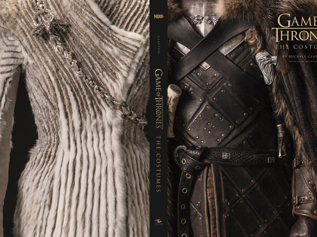 A Gorgeous New Game of Thrones Book Showcases the Series' True Winners: the Costumes