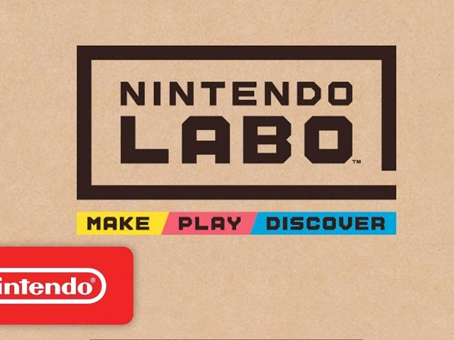 PSA: You Can Preorder Nintendo's LABO Kits Now, If You Want Them On Launch Day